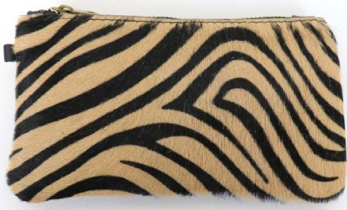 Leather Animal Print Purse/Wallet - Tiger